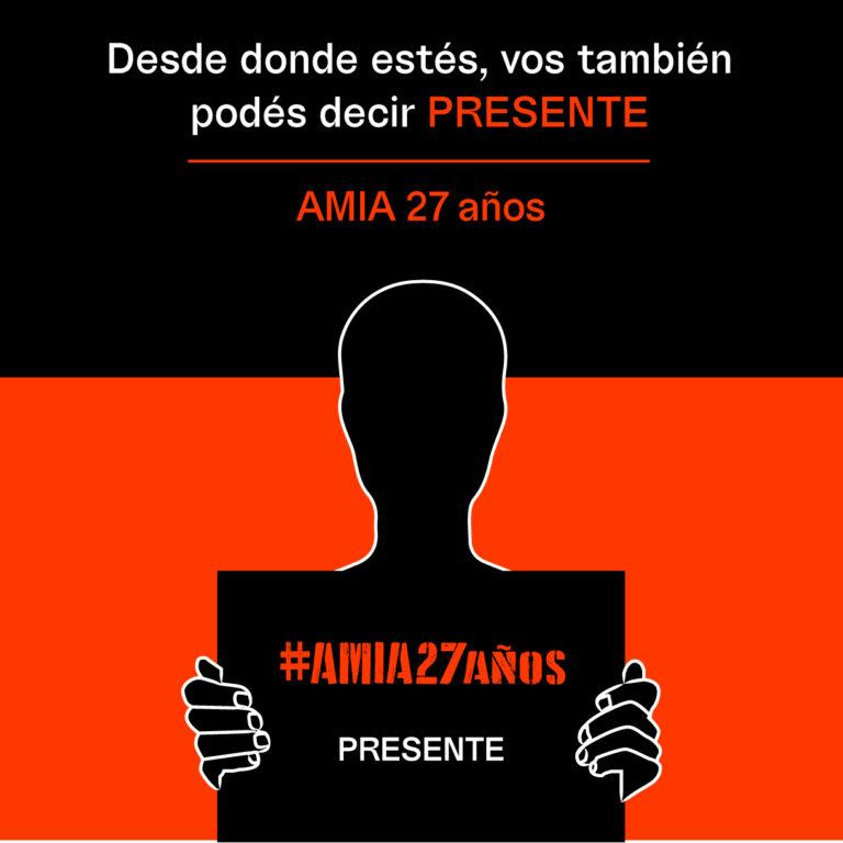 AMIA: Invitan a acompañar el reclamo de Memoria y Justicia