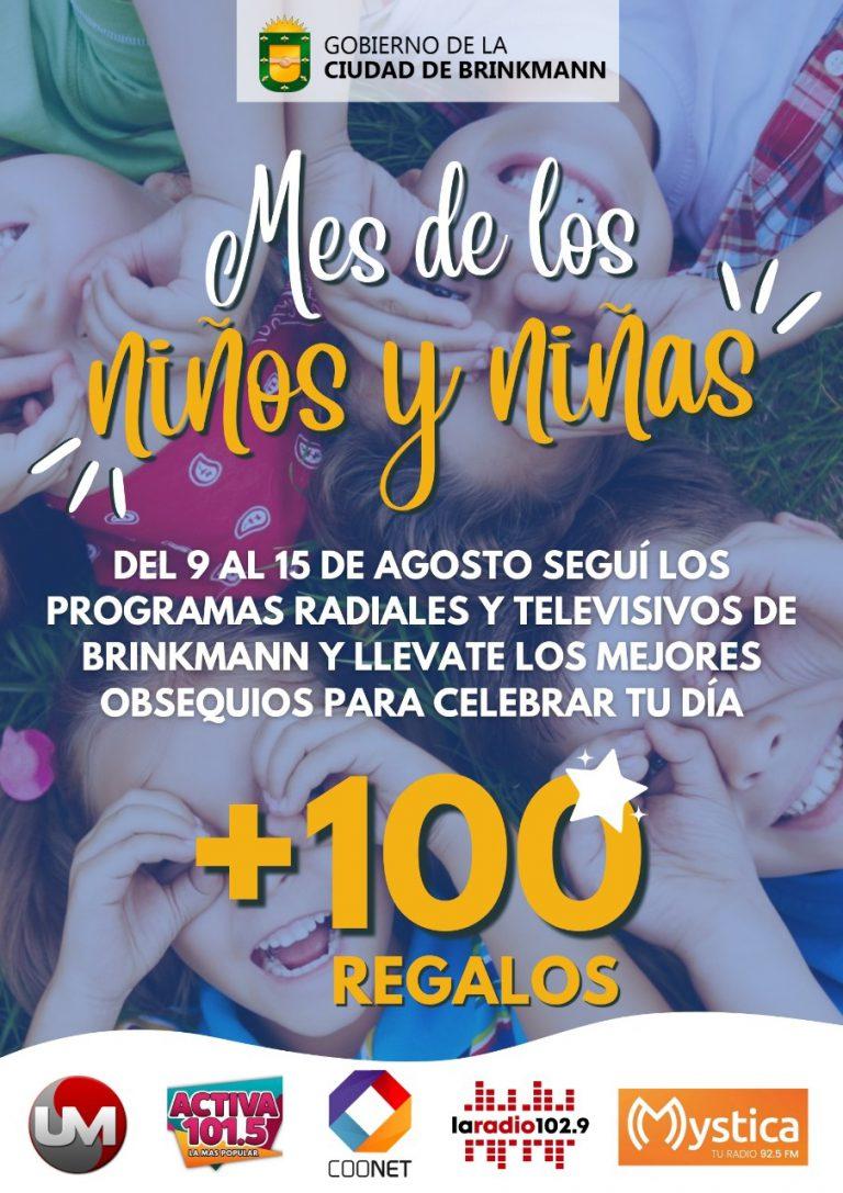 Gobierno Municipal regala más de 100 obsequios para celebrar el mes de los niños