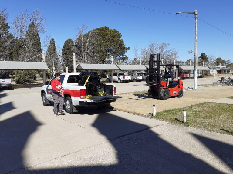 IAS Colonia Vignaud: Realizaron exposición sobre mantenimiento de motores agrícolas