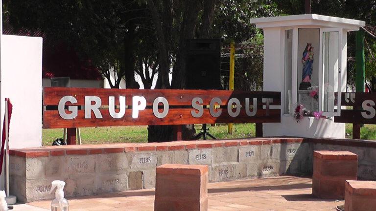 Inauguraron nuevo ingreso al Predio Scout y Ermita de la Virgen