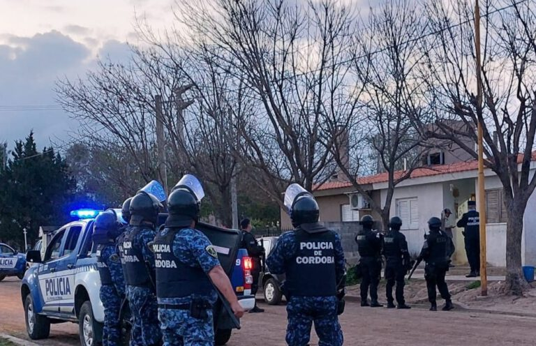 Balnearia: Detuvieron a joven de 22 años vinculado a hecho de violencia