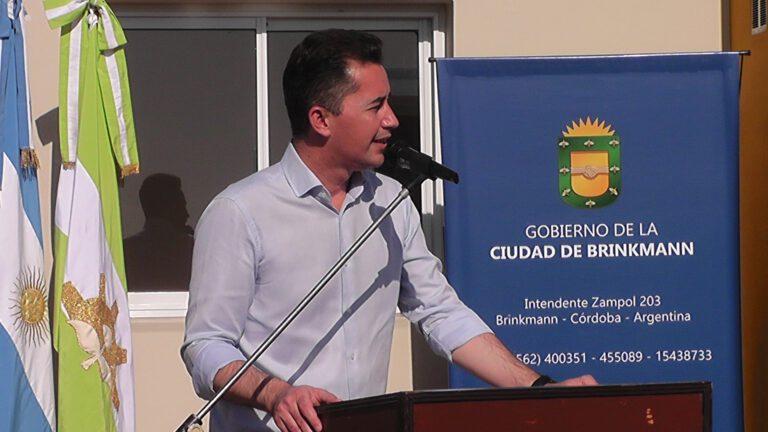 Calvo en San Justo: «Córdoba genera oportunidades laborales»
