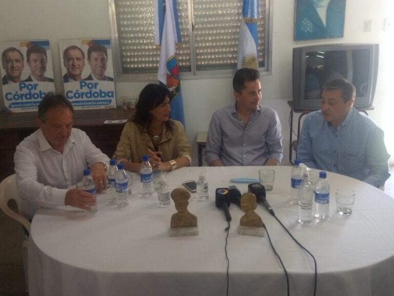Natalia de la Sota y Manuel Calvo visitaron Brinkmann